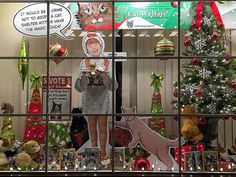 If customers agree that the shops throughout Old Worthington look a bit more festive this year, Old Worthington Partnership organizers are hoping they show their appreciation by donating to one of the many charities represented by the decorations.