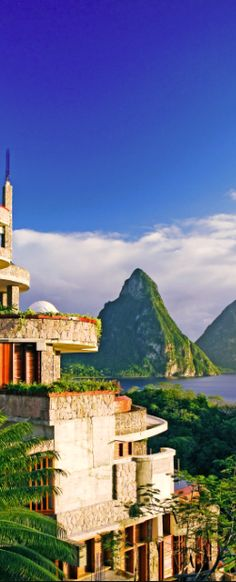 #Jetsetter Daily Moment of Zen: Jade Mountain in St. Lucia
