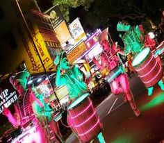 UK-based LED drummers are available to book for product launches.
