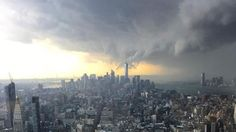 Timelapse Video Showing Storms Rolling Into NYC.