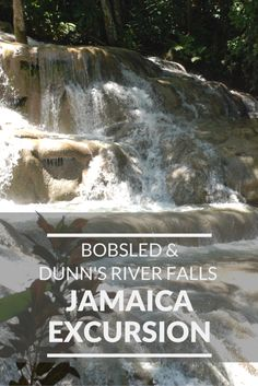 Bobsled Jamaica and Dunn's River Falls Excursion; Jamaica; Disney Cruise Line - My Big Fat Happy Life