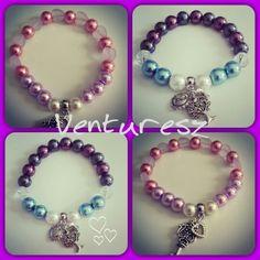Beautiful pearl bracelets