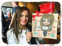 Our lovely customers with their very own unique personalised bags! Be spoiled, be unique, be you...