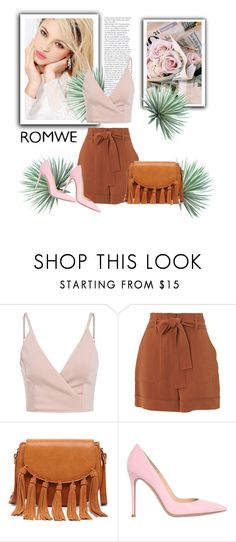 """Untitled #166"" by ell-1997 ❤ liked on Polyvore featuring Silvana, Whistles, Sole Society, Gianvito Rossi and Agave"