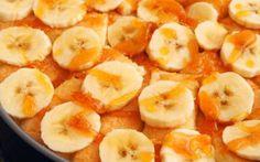 Torta de Banana Super Simples