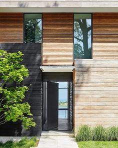 School Architecture, Residential Architecture, Architecture Details, Interior Architecture, Contemporary Front Doors, Interior Design Presentation, Conceptual Design, House Front, Facades