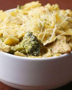 One-Pot Creamy Chicken And Broccoli Pasta