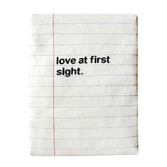littleoddforest | Notebook iPad Sleeve (Love At First Sight)