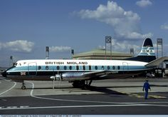 Photo British Midland (BMA) Vickers Viscount G-BAPF