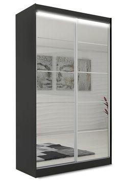 Smalt garderobeskap med speil og lys svart 120 cm Flores Furniture, Home Decor, Rome, Decoration Home, Room Decor, Home Furnishings, Home Interior Design, Home Decoration, Interior Design