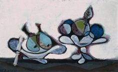 Dish of Pears - Pablo Picasso - The Athenaeum