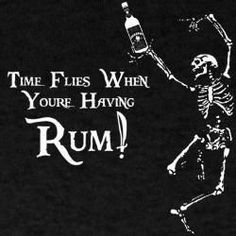 Time flies when you're having rum! Pirate Art, Pirate Life, Pirate Theme, Pirate Signs, Pirate Halloween, Halloween Party, Adult Halloween, Pirate Birthday, Pirates Of The Caribbean