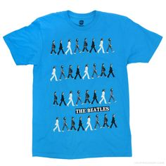 The Beatles  Abbey Road Repeat  T Shirt