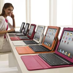 iPad keyboard & case, I dont have an ipad yet, but when I do, I will want this!