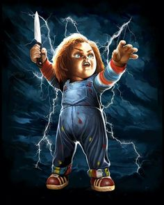 Fright-Rags' CHUCKY collection honours one of horror's most iconic villains Scary Movie Characters, Scary Movies, Jason Freddy Krueger, Chucky Movies, Horror Shirts, Childs Play Chucky, Horror Artwork, Scary Art, Movie Poster Art
