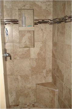 awesome Lovely Bathroom Shower Stall Tile Designs