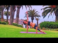 My Sat or Sun routine when I want to switch up my Beginning Yoga levels with my Russian Instructor - ALI ...Plus the scenery is breathtaking!! NAMASTE :D Beginner Yoga 20 min Vinyasa Hatha class Level 1 Abs Back Stretching
