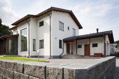 harkkotalo 1 Home Fashion, Habitats, House Plans, Mansions, House Styles, Koti, Design, Home Decor, Google