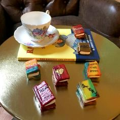 Mini Book Snacks For Your Book Club Menu – All The Wonders