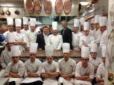 Boulud, Chef Paul Bocuse, Bourdain in Lyon, France