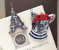 "1,327 Likes, 58 Comments - Urmancheva Marina (@urmancheva_marina) on Instagram: ""Bonjour de Paris..❤️🇫🇷 броши отправятся в Ригу✨#париж#франция#paris #MUшечки Цены уточняйте в…"""