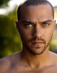 There's just something about a black man with green eyes. Jesse Williams.