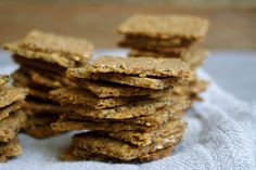 The Essential Cracker: Quinoa, Flax + Poppyseed (Vegan, Gluten-Free) | In Pursuit of More