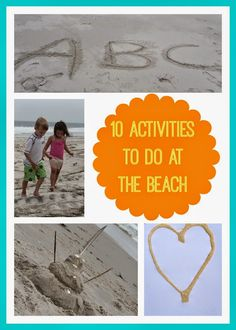 10 Activities to Do at the Beach with Kids