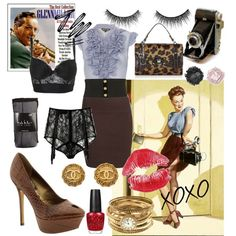 pin up girl style