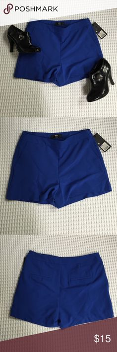 Mossimo blue dress shorts size 8 Mossimo blue dress shorts size 8 Mossimo Supply Co Shorts
