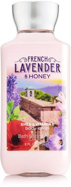 Delicate and clean!  French Lavender & Honey Body Lotion - Signature Collection - Bath & Body Works