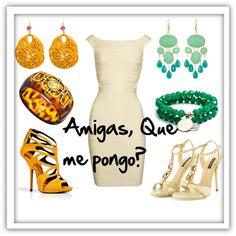 """""""Amigas, Que me pongo?"""" by ciaobellamama on Polyvore"""