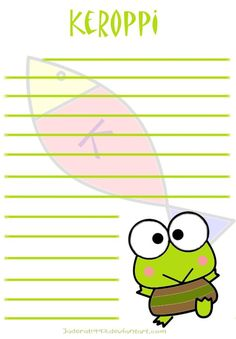Keroppi Stationary by on DeviantArt Keroppi Wallpaper, Custom Stationary, Apps, Wind Waker, Japanese Flowers, Sanrio Characters, Mail Art, Aesthetic Pictures, Hello Kitty