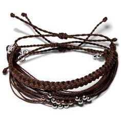 Coconut Brown Set  - Weltfreund Armbänder