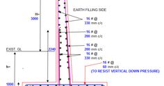 Retaining Wall Construction, Concrete Design, Line Chart, How To Plan, Steel, Studying, Nice, Reinforced Concrete, Walls