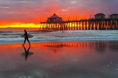 One of the very best getaways for a beach vacation in California is sunny Huntington Beach . With many diverse sports such as surfing. Orange County Beaches, Breathe, Huntington Beach California, California Usa, Nature Posters, Free Beach, Beach Fun, Ocean Beach, Beach Wallpaper