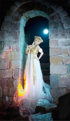 Cosplay de la princesa Serenity