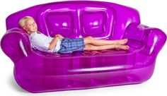 Inflatable Sofa in Purple (Retro Planet)