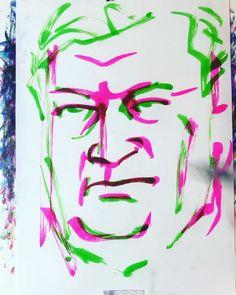 "torao fujimoto on Instagram: ""#akikaurismäki #アキカウリスマキ #filmdirector #映画監督 #leningradcowboysgoamerica #レニングラードカウボーイズゴーアメリカ #miesvaillamenneisyyttä #過去のない男…"" Arabic Calligraphy, Instagram, Arabic Calligraphy Art"