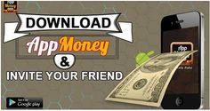 Download #AppMoney & Invite Your Friend. #AppMoneyOffers #ReferAppMoney Download & Install Here: http://bit.ly/1C8FPEc