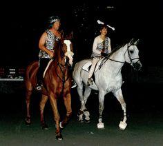 Barney Ward + Margie Engle in costume 2010 by Washington International Horse Show (WIHS), via Flickr