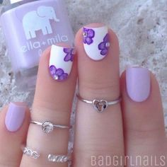 Exquisite Pastel Color Nails To Freshen Up Your Look: Sweet Pale Lilac Nails Pastel Color Nails, Lilac Nails, Nail Colors, Lavender Nails, Pastel Colors, Pretty Nail Designs, Pretty Nail Art, Nail Art Designs, Awesome Designs