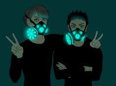 Gray Matters | octorina:   i really love gas masks