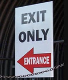 The silly signs that don't quite get the message across