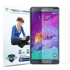 #amazon Tech Armor Samsung Galaxy Note 4 High Defintion (HD) Clear Screen Protectors - Maximum Clarity and Touchscreen Accuracy [3-Pack] Lifetime Warranty - $6.95 (save 72%) #techarmor #electronics #wireless