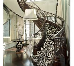 This is super cool! I don't know that I would ever put it in my house, and I highly doubt my future husband will let me. If I had a getaway home just for me I would totally have something like this! Zebra print is really unique!