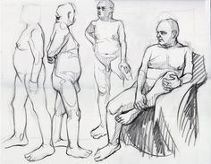 Life drawings session, Malt Cross, Nottingham. http://iangordoncraig.blogspot.co.uk/