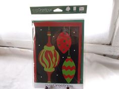 New Ever Greetings Card & Garden Yard Flag Gift Christmas Ornaments #EverGreetings