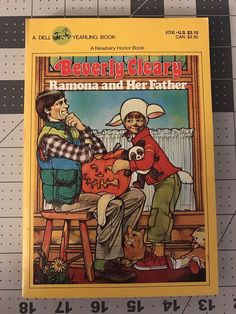 """Beverly Cleary """"Ramona and Her Father"""" May 1979  