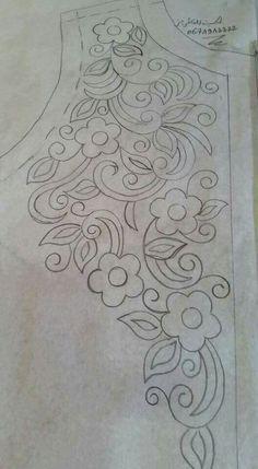 Các kiểu hoa vẽ tay